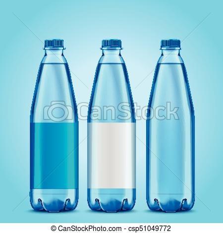 three bottles mockup
