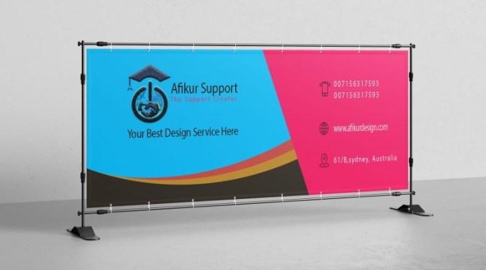 web banner design in photoshop free psd file download afikur design