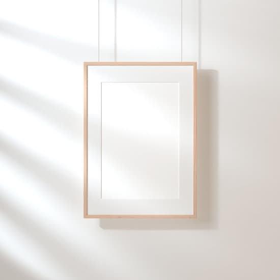 white frame mockup photos canva