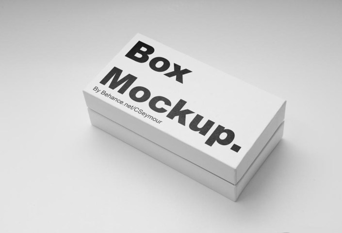 white small box mockup mockupworld