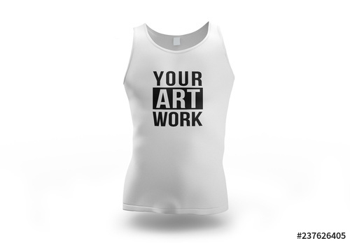 white tank top mockup buy this stock template and explore