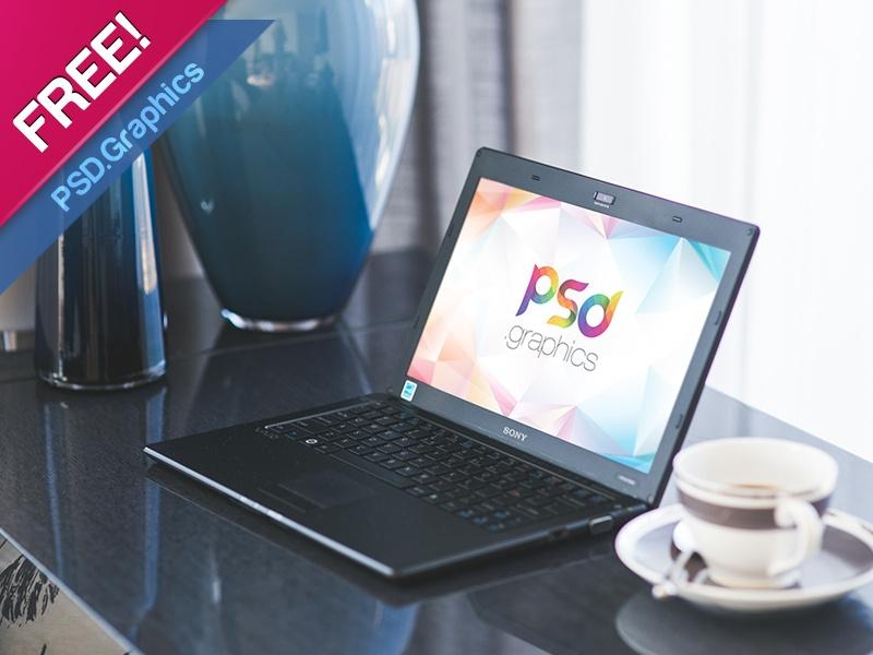 windows laptop mockup psd free psd graphics on dribbble