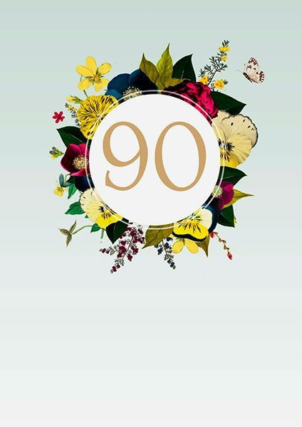 "90th Birthday Card - candacefaber.com"" title="