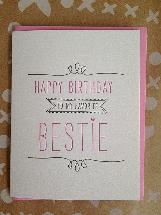 Birthday Card Ideas For Best Friend - candacefaber.com