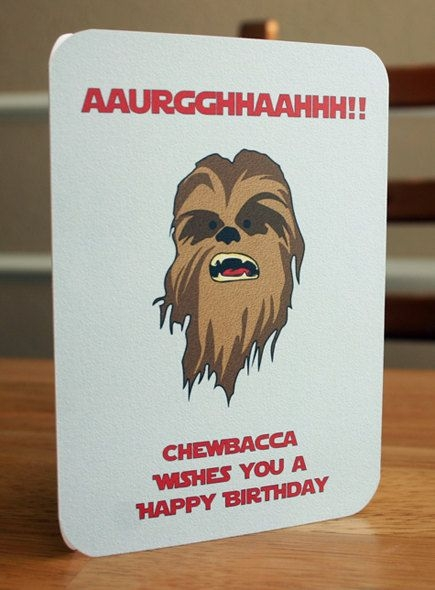 Star Wars Birthday Card Printable - candacefaber.com