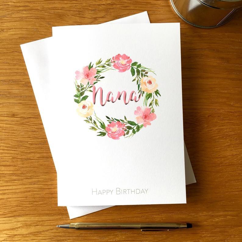 Grandma Birthday Card - candacefaber.com