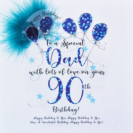 90th Birthday Card - candacefaber.com