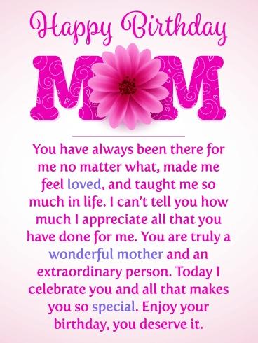 Mom Birthday Card - candacefaber.com