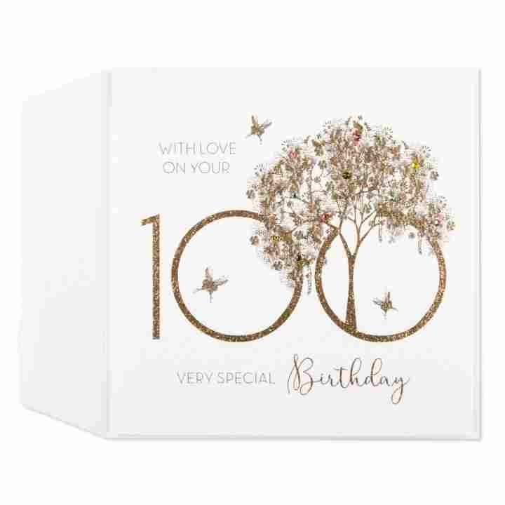 """100th Birthday Card - candacefaber.com"""" title="""