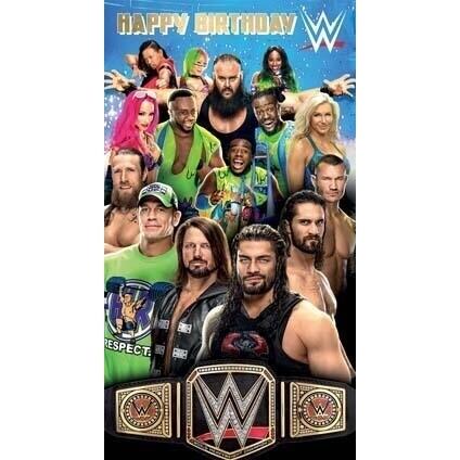 John Cena Birthday Card - candacefaber.com