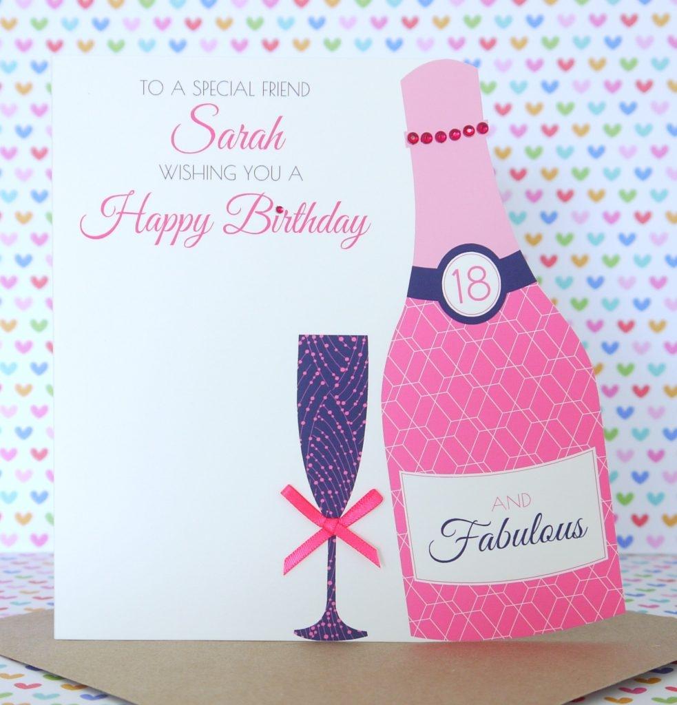50th birthday card sister