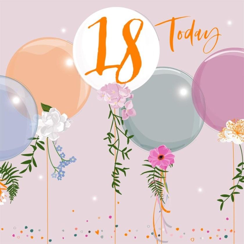 bellybutton designs 18th birthday card