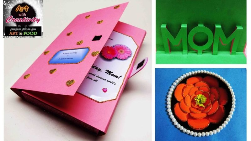 birthday card mom special diy art with creativity 101