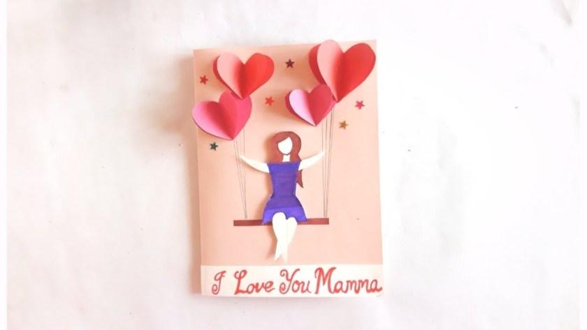 birthday greeting card idea specially for mom easy to make card idea