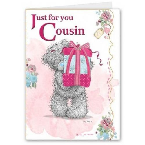 cousin birthday card me to you happy birthday greeting