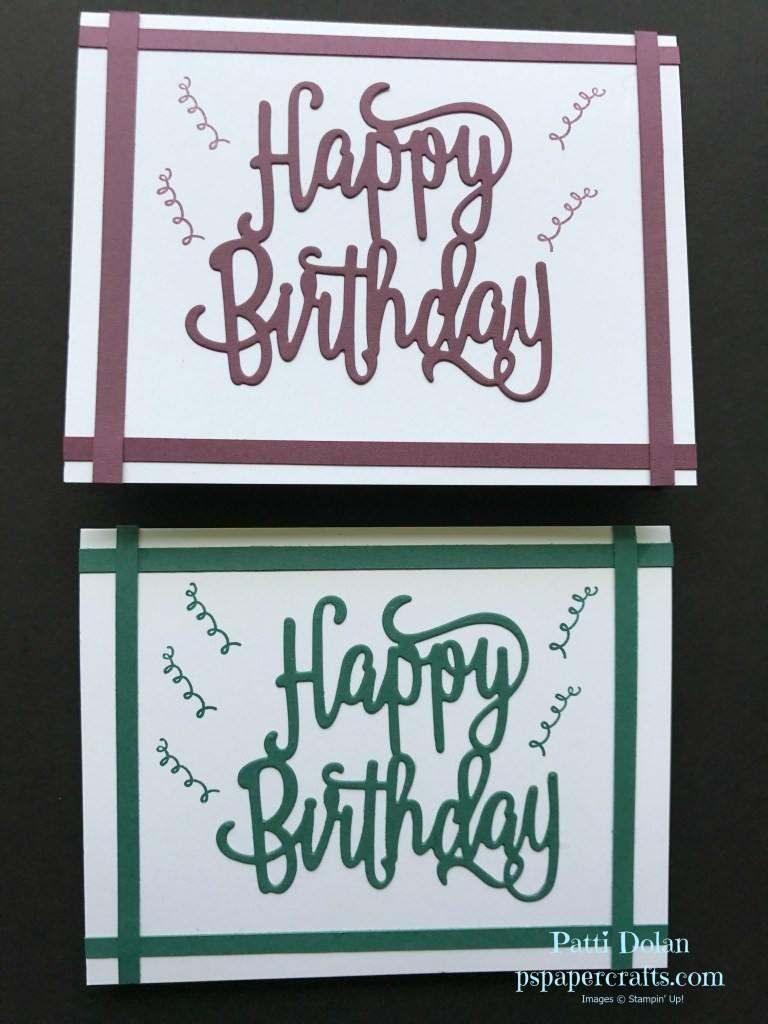 easy masculine birthday card luv 2 stamp group projects