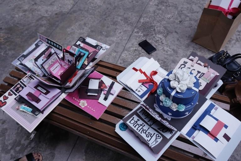 exploding box birthday card 3 happy birthday world