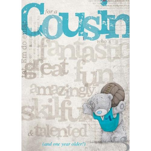 fantastic cousin birthday card me to you happy birthday