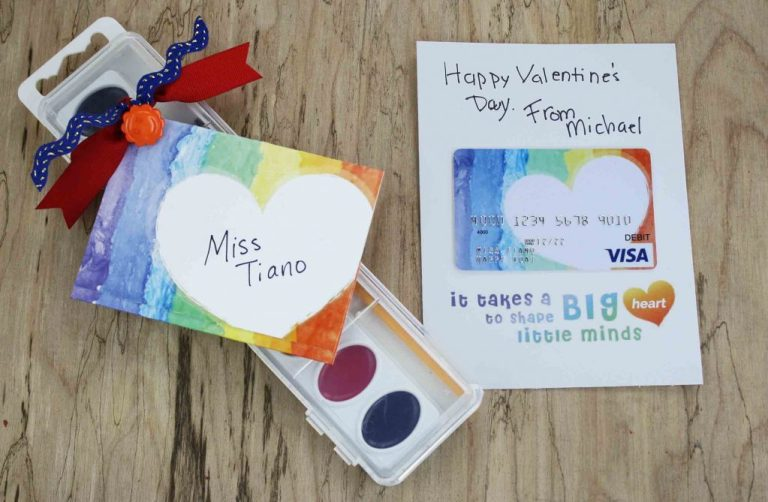 free gift card printable teacher valentine gift