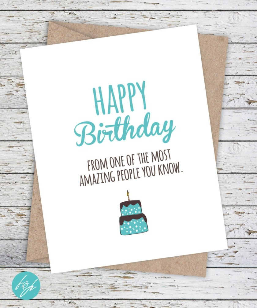 funny birthday card boyfriend birthday friend birthday
