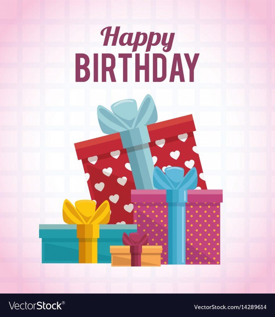 gift box present birthday card