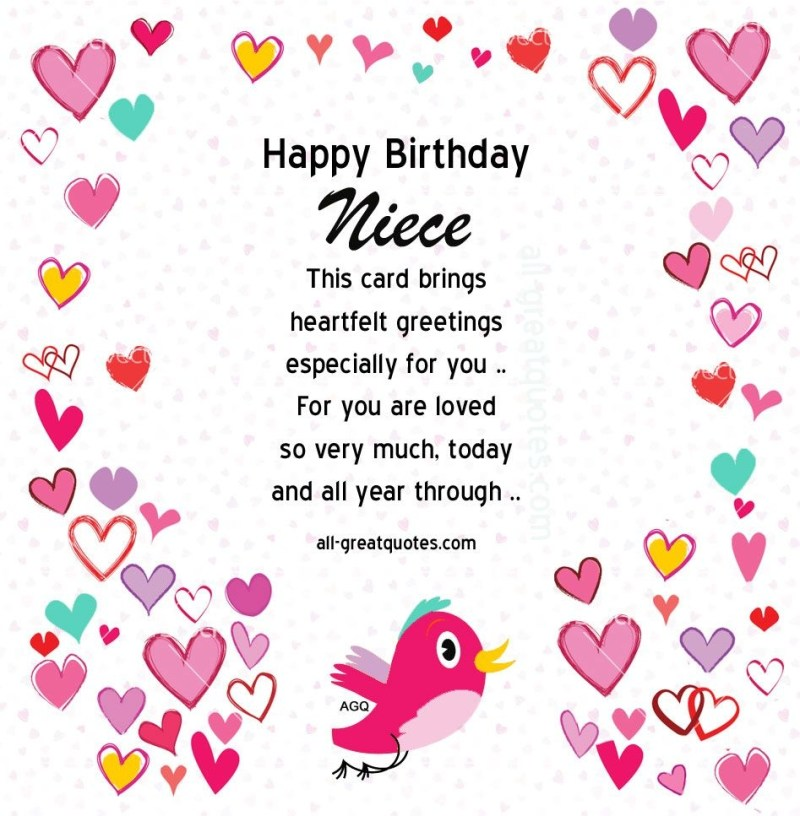 happy birthday niece free birthday cards for niece