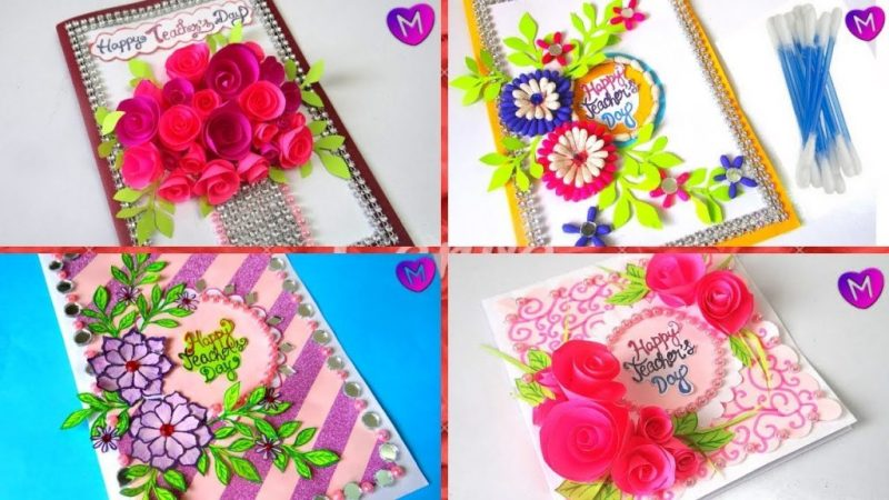 how to make greeting cards for teachers day 5 latest design handmade greeting card making ideas