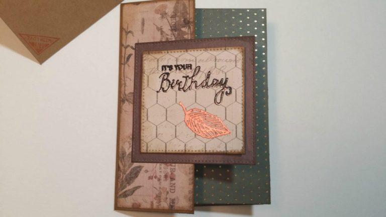 making masculine birthday cards larris livin lite