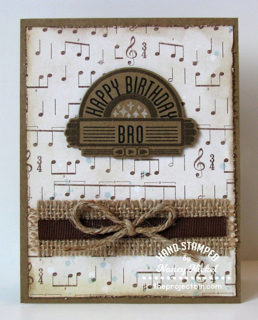 masculine birthday cards the project bin
