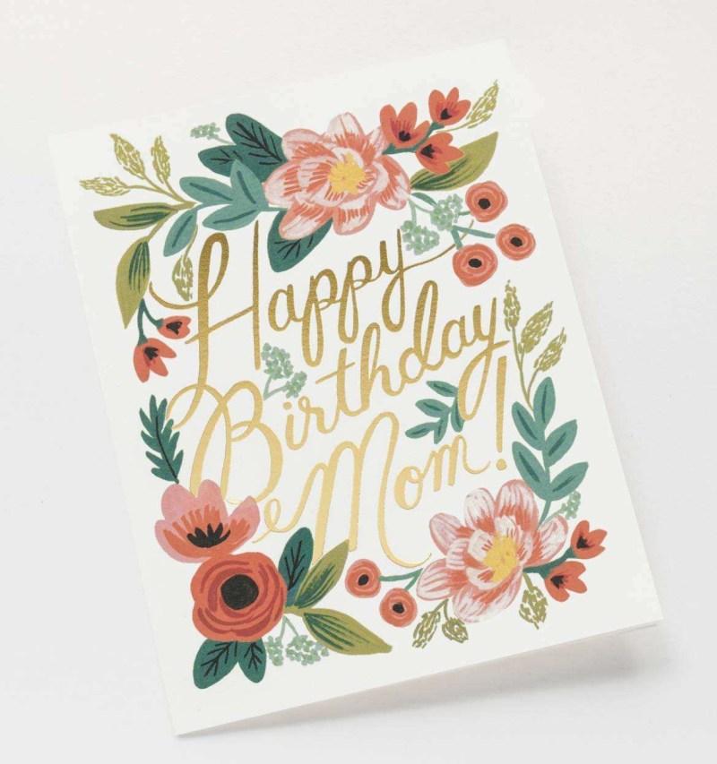 mum birthday card ideas exclusive happy birthday mom