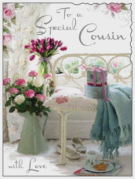 special cousin happy birthday card