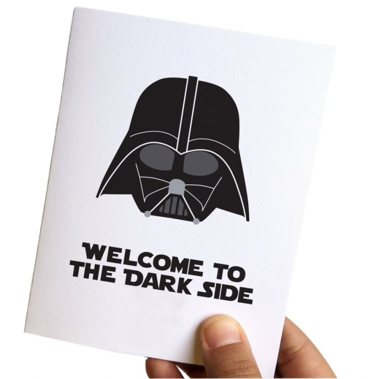 star wars birthday card boyfriend message envelopes images