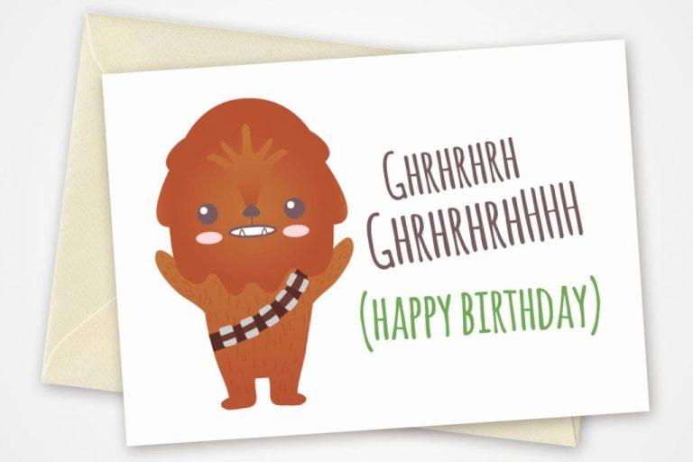 star wars printable birthday cards new star wars birthday