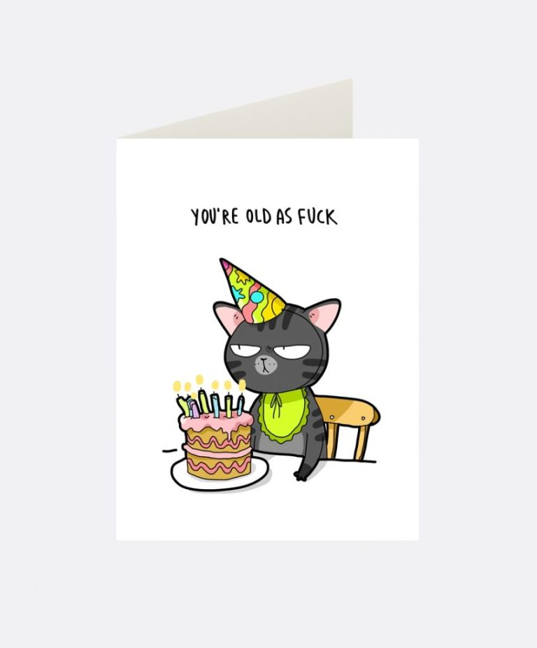 birthday cat greeting card cat birthday funny cards