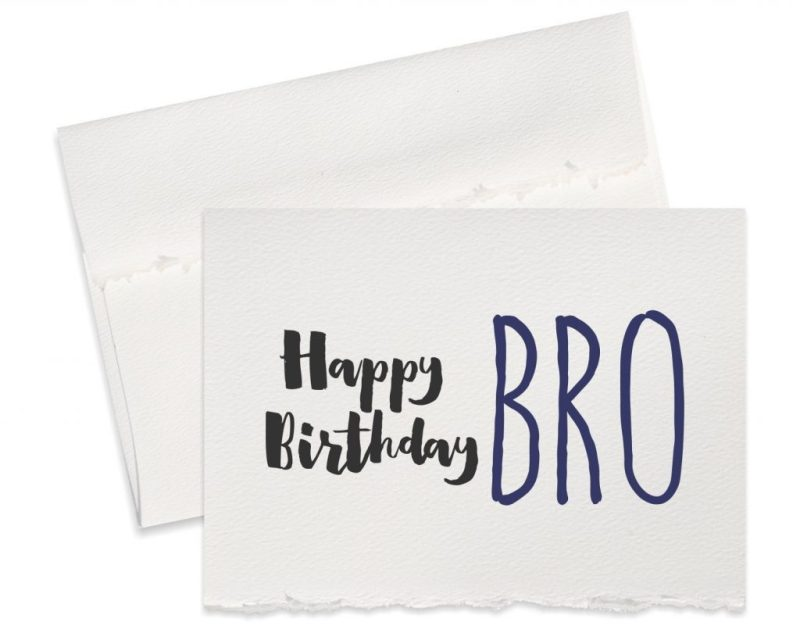 funny birthday card for brother happy birthday bro card for