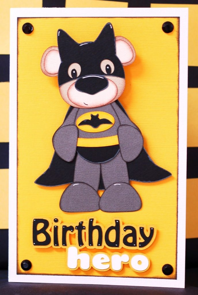 paper creations kristin batman birthday card
