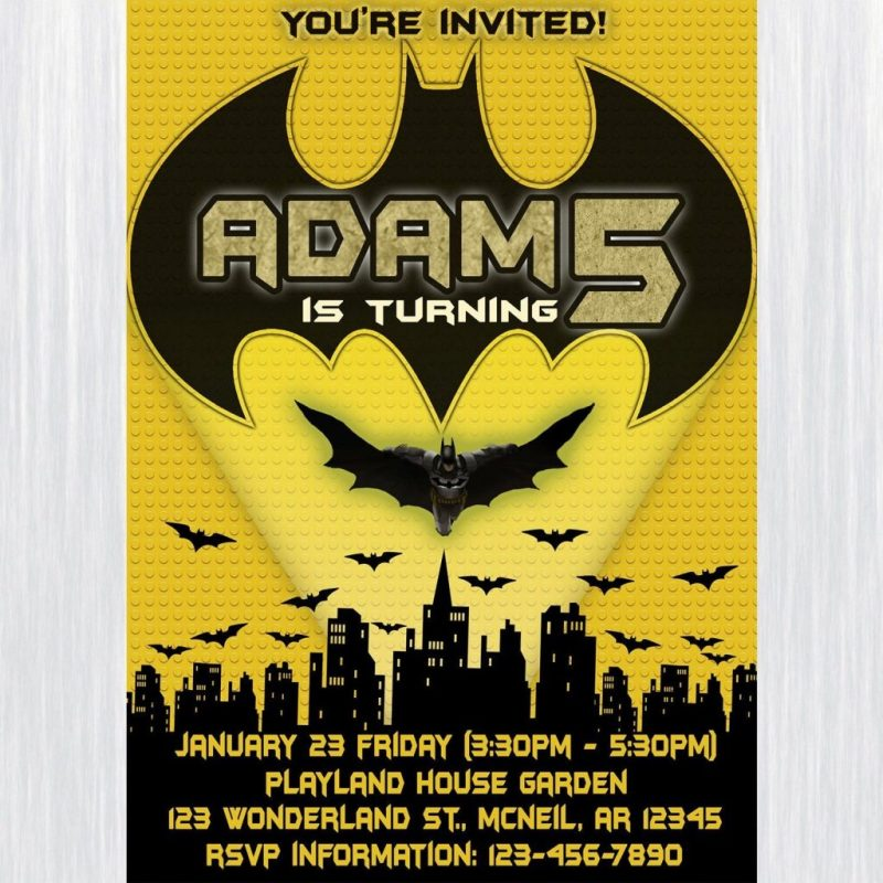the best batman printable birthday card