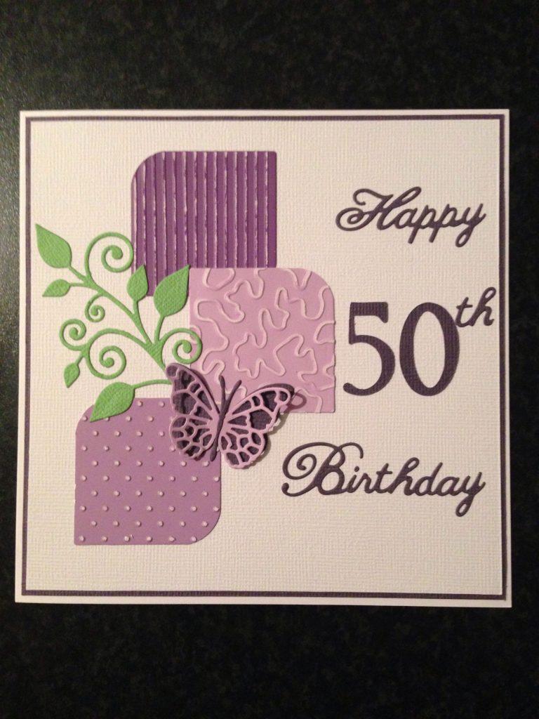 50th female birthday card birthday cards for women 50th