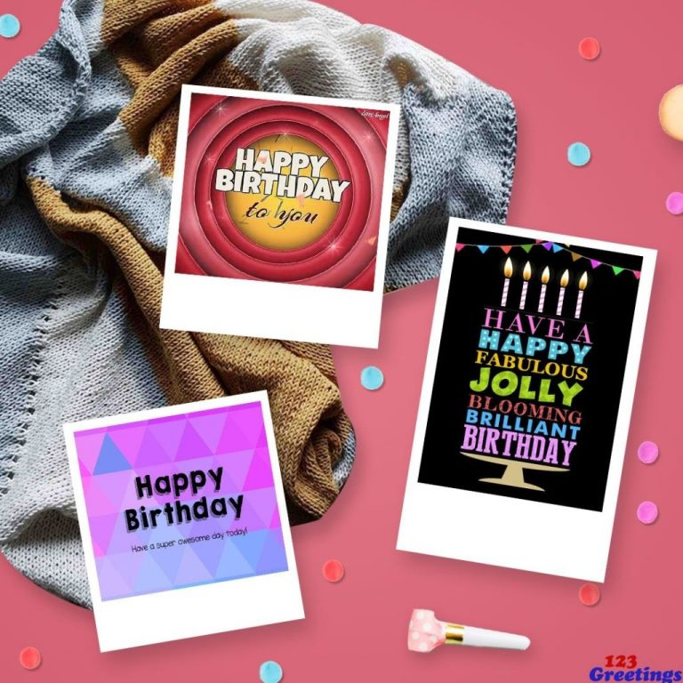 a few classic birthday cards offered on 123gs site which