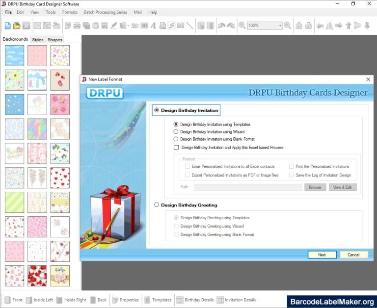 birthday card creator free demo download printable funny