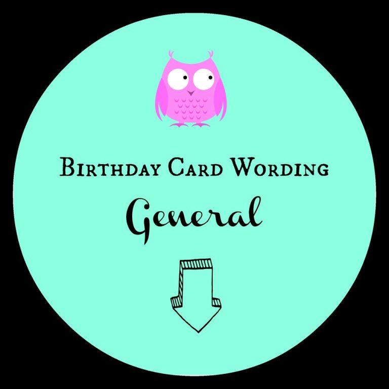 birthday card wording examples confetti bliss