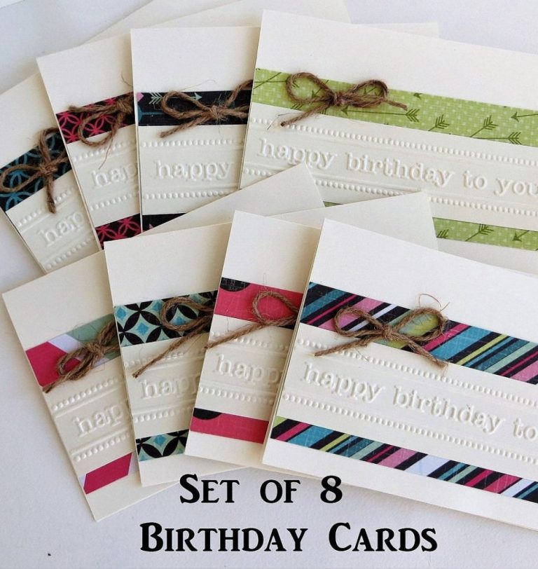 birthday cards handmade happy birthday card set birthday