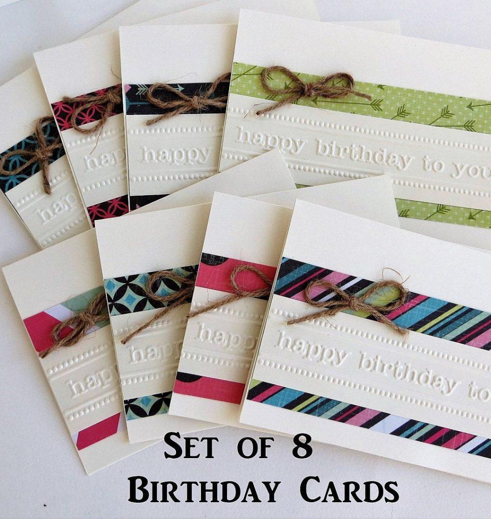 birthday cards handmade happy birthday card set birthday