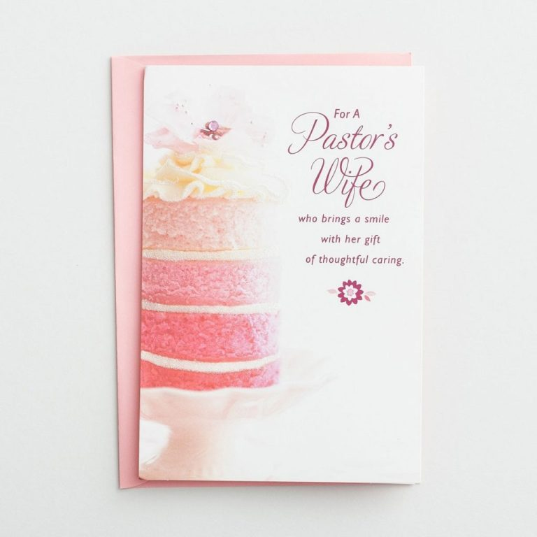 birthday pastors wife just being you 1 premium card