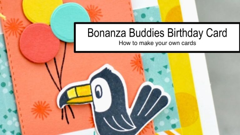 bonanza buddies birthday card how to make your own cards handmade cards are easy