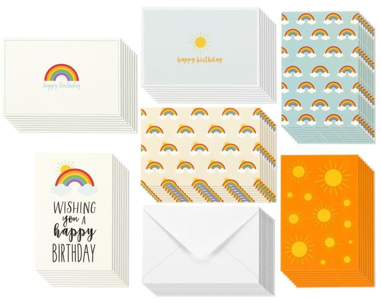 buy birthday card 48 pack birthday cards box set happy