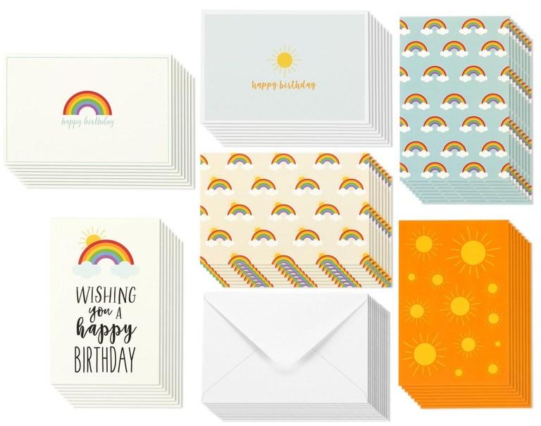 buy birthday card 48 pack birthday cards box set happy