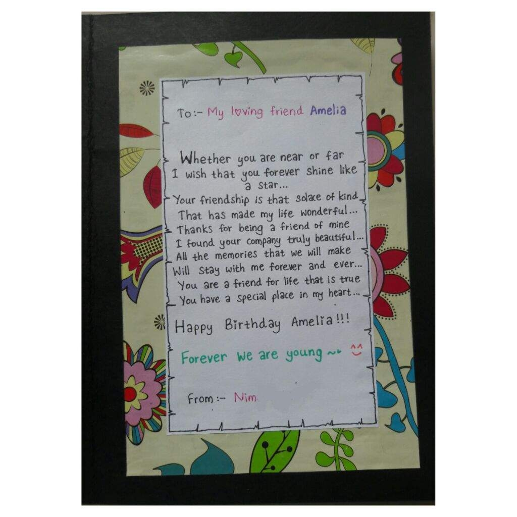 diy bts birthday card for an army friend armys amino