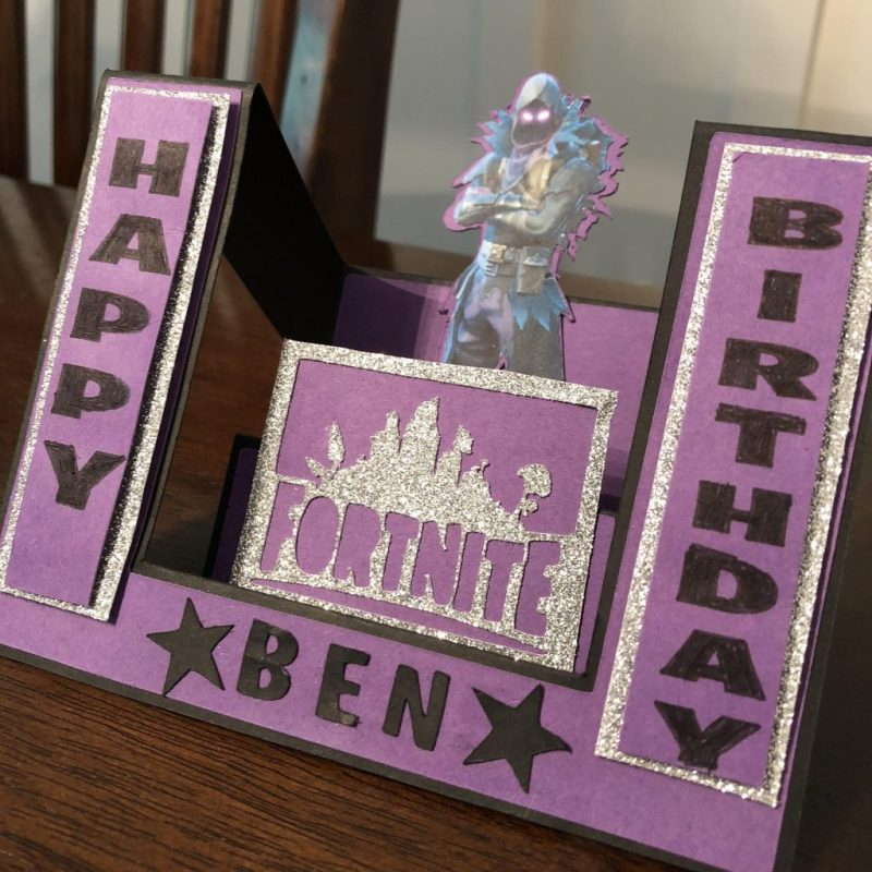 fortnite birthday card made for my nephew fortnitebr