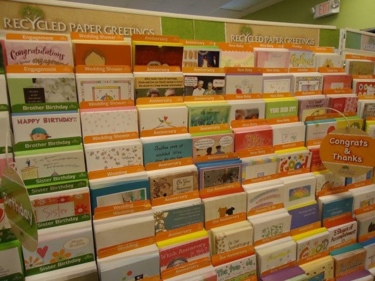 free photo greeting cards display birthday cards